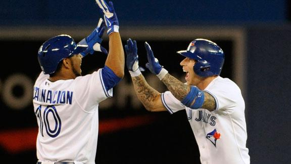 Blue Jays beat Red Sox after blowing save
