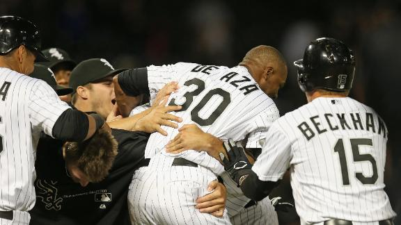Video - White Sox Walk Off Against Tigers
