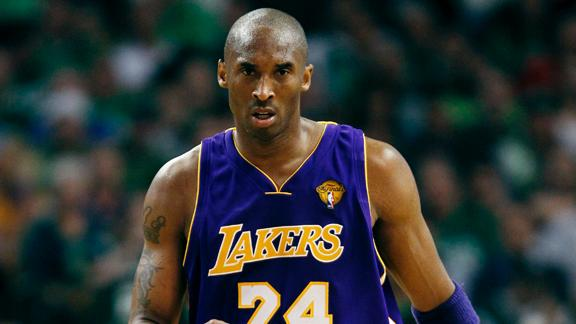 Kobe reacts to dismal projection for Lakers