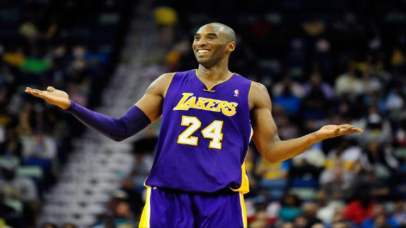 Kobe not sure he'll be ready for Lakers' opener