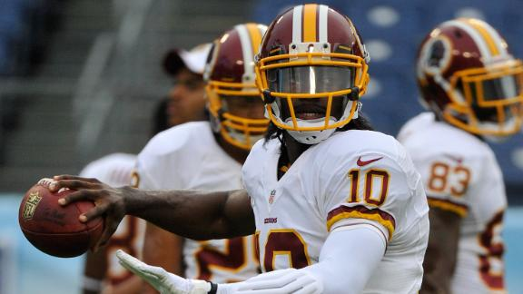 McNabb: RG III 'brainwashed' by Redskins