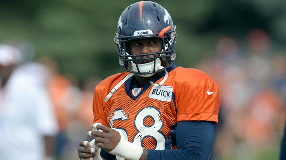 Broncos' Miller arrested for failure to appear