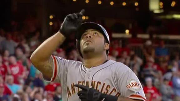 Pinch-hitter Sanchez blasts Giants past Nats