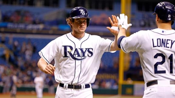 Video - Myers Powers Rays Past M's