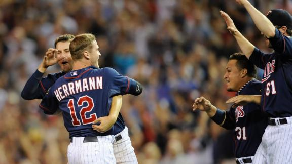 Video - Twins Rally For Walk-Off Win