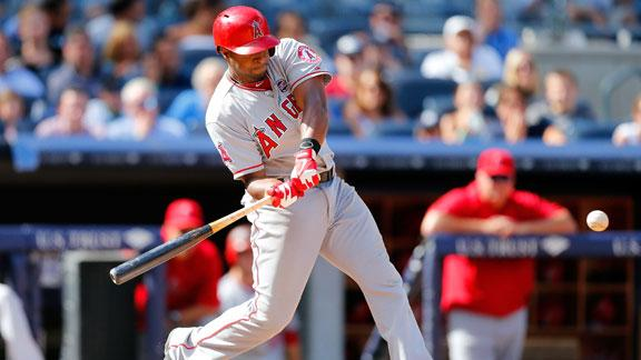Angels top Yankees despite Soriano's 4 hits