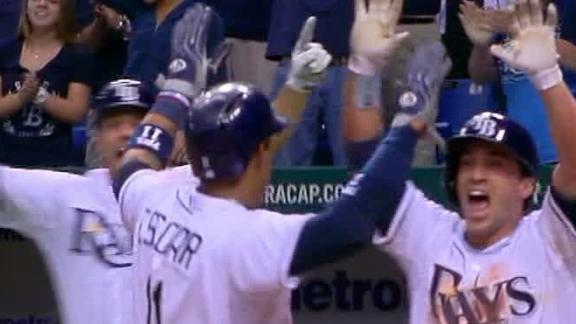 Video - Rays Walk Off