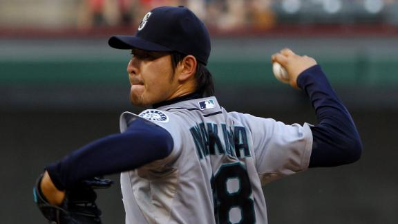 Video - Iwakuma, M's Shut Down Rangers