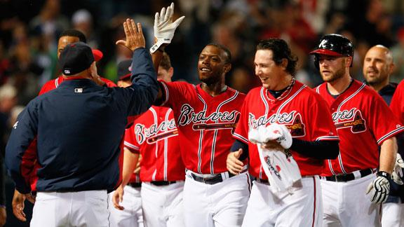 Video - Braves Walk Off With Win