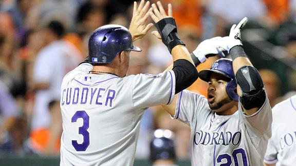 Video - Rockies Double Up Orioles