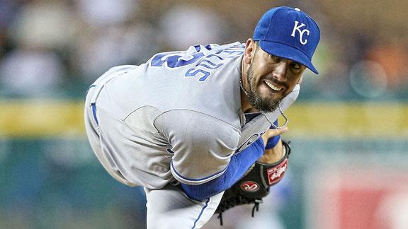 Royals shut out Tigers, sweep doubleheader