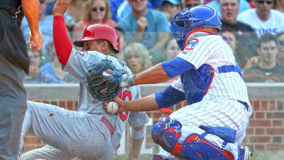Castro pulled by Sveum as Cubs fall to Cards