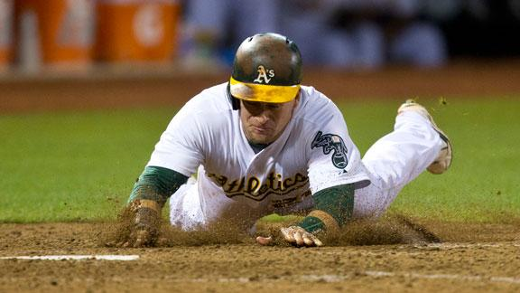 Video - A's Sneak Past Indians