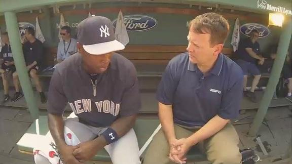 Video - Buster Olney & Alfonso Soriano sit down in the dugout