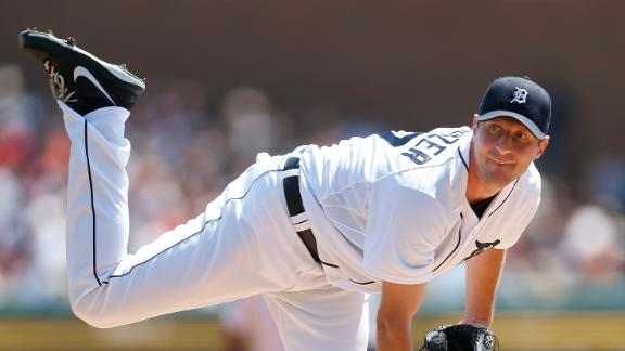 Scherzer first to 18 wins as Tigers top Royals