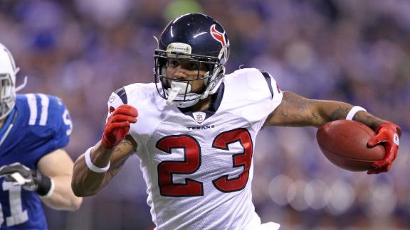 Texans' Foster (back) still not ready to go