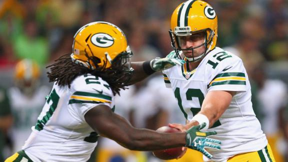 Video - Rodgers, Lacy Lift Packers Past Rams