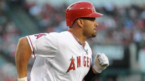 Angels declare Pujols (foot) done for season