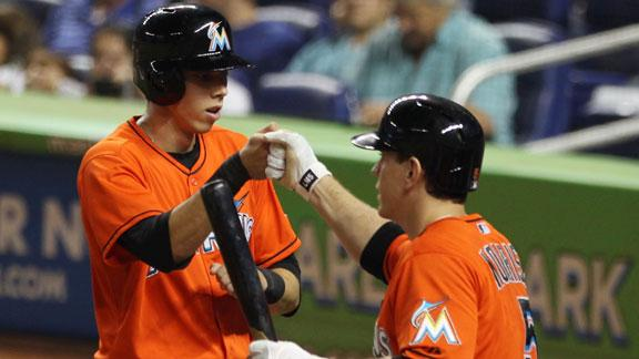 Marlins hand Dodgers second straight loss