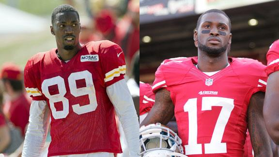 Chiefs, 49ers WR swap: Baldwin for Jenkins