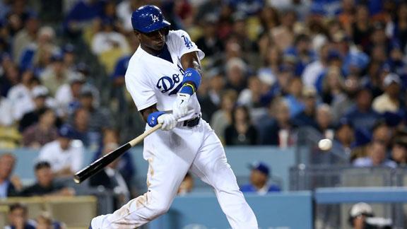 Dodgers' Puig violates team rule, gets fined