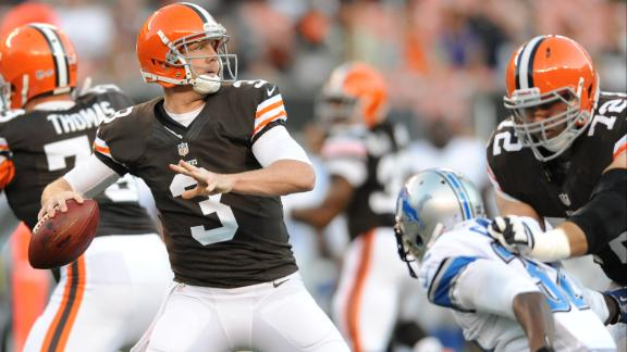 Video - Browns Name Weeden Starter