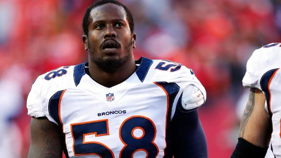Broncos' Miller still hopes for 'fair resolution'