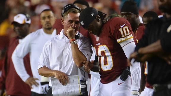 Shanahan: Andrews will make call on RG III