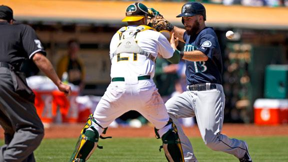 Video - Mariners Push Past A's