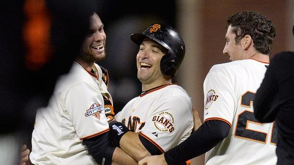 Giants beat Red Sox on 9th-inning walk