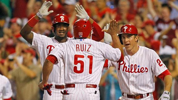 Video - Phillies Walk Off With Win