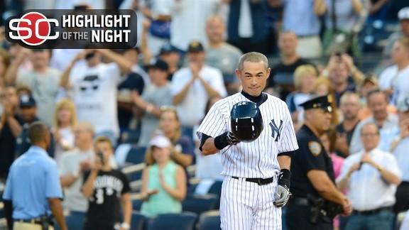 Video - Ichiro Reaches 4,000 Hits In Yanks' Win