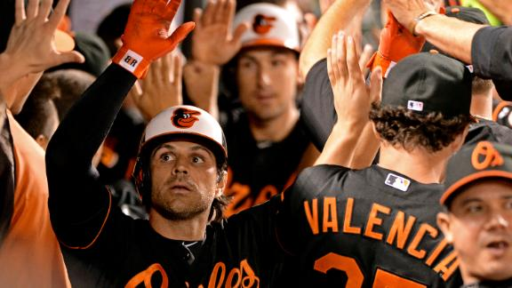 Video - Roberts Hits Grand Slam In O's Win