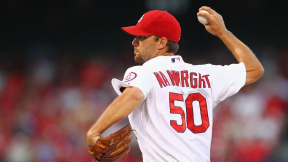 Cards' Wainwright wins NL-best 15th game