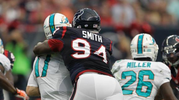 Texans' Smith's appeal denied; ban upheld