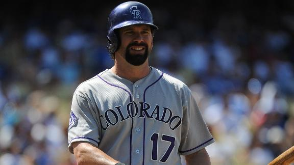 Video - Helton Headed To Cooperstown?