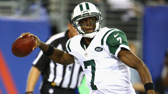 Jets' Smith tosses 3 INTs; Sanchez injured