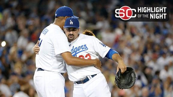 Video - Nolasco, Dodgers Shut Out Red Sox