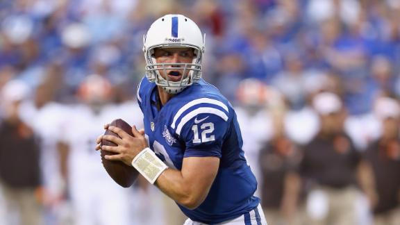 Video - Luck Sparks Colts Win