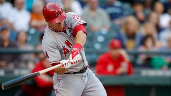 Trout goes deep as Angels handle Mariners