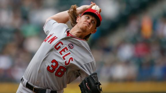 Weaver guides Angels to sweep of Mariners
