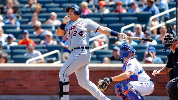 Cabrera homers again as Tigers pound Mets