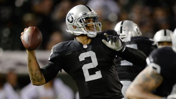 Pryor to start Raiders' final preseason game