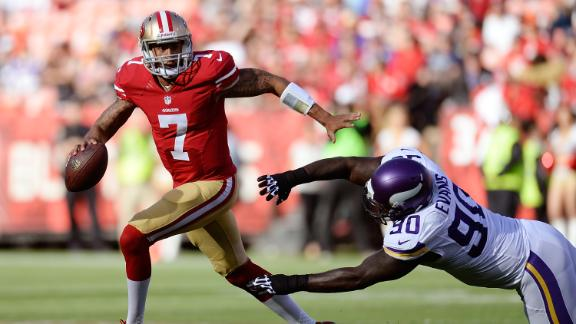 Video - Kaepernick Throws TD In 49ers Win