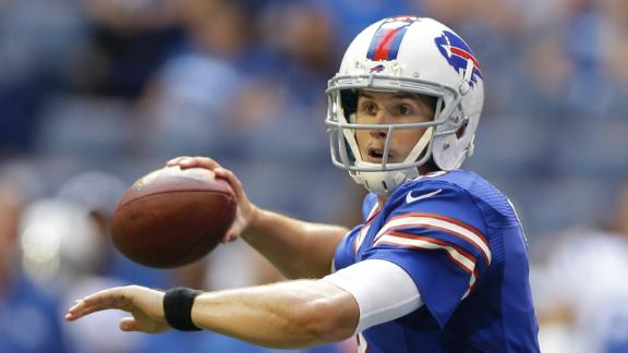 Bills' plan is to start Tuel at QB in Week 1