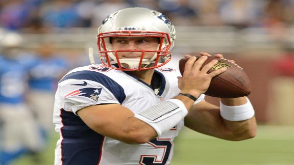 Pats' Tebow focused on prep, not his future