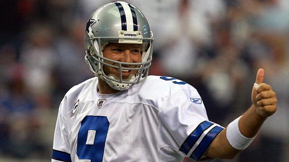 Jones: Romo's offensive mind like Payton's