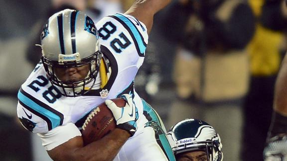 Panthers shelve Stewart through Week 6