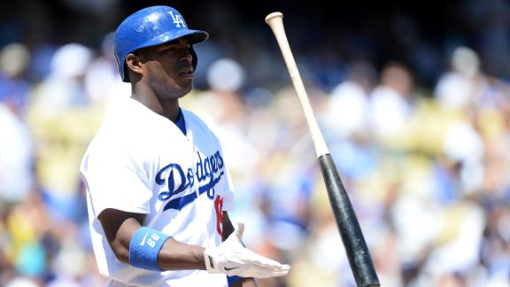 Video - Puig Pulled From Game