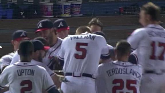 Video - Johnson, Braves Walk Off